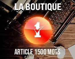 Article 1500 mots