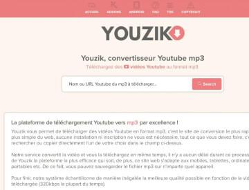 Youzik : le meilleur convertisseur YouTube en MP3